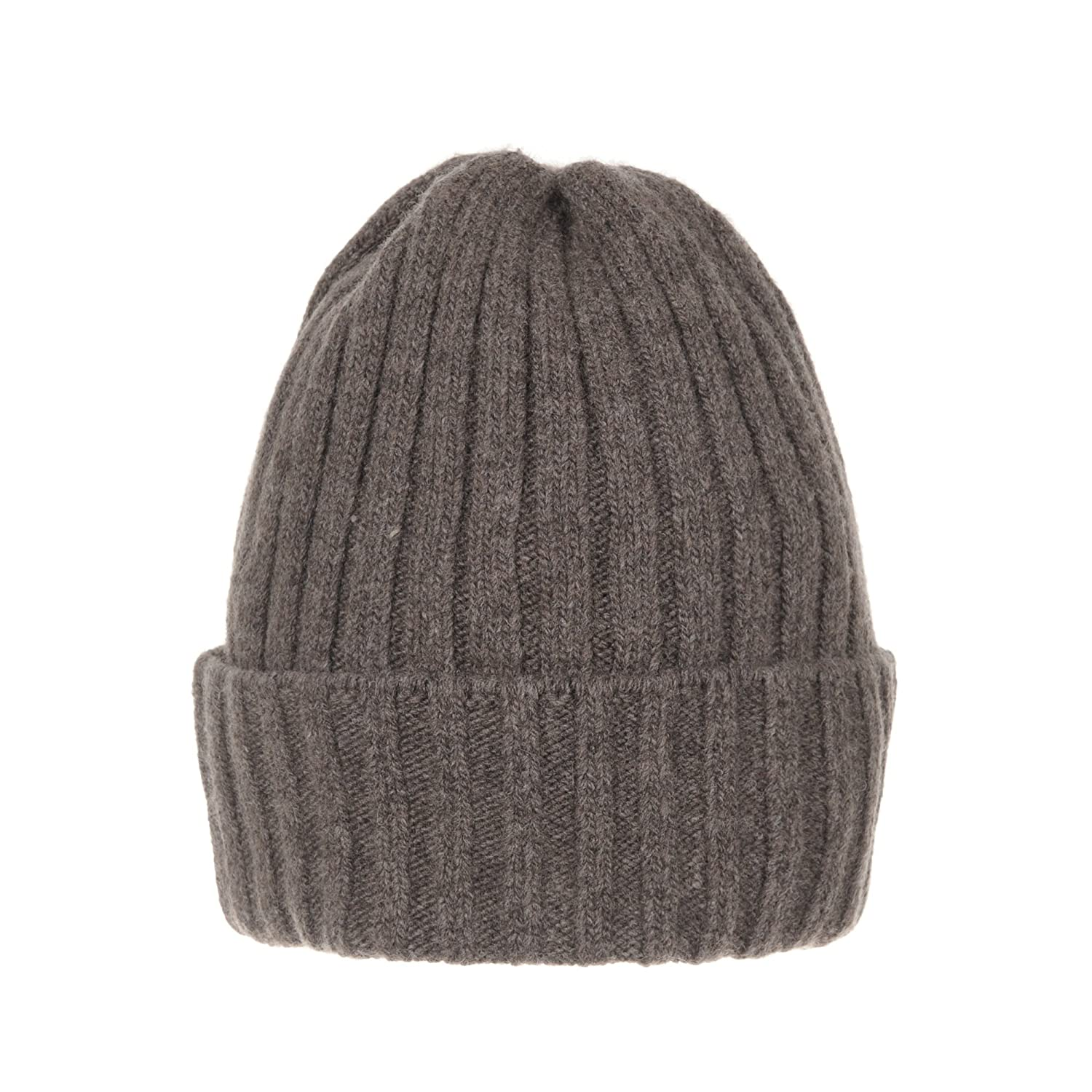 WITHMOONS Wool Ribbed Knitted Beanie Hat Slouchy Bobble Pom AC5476 (Brown)  at Amazon Women s Clothing store  5ae925b9555