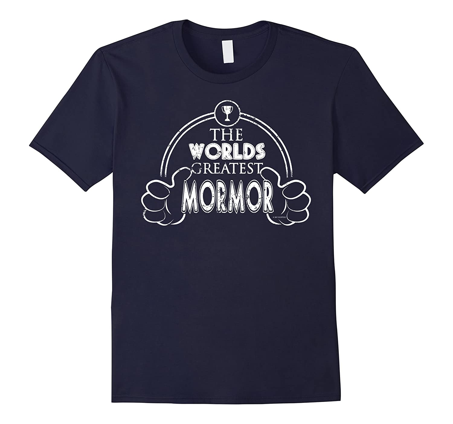 Worlds Greatest Danish Mormor Shirt-TH