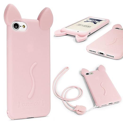 7 opinioni per URCOVER Custodia Protettiva Morbida Apple iPhone 6 / 6s | Backcase Orecchie di
