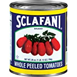 Sclafani Whole Peeled Tomatoes, 28 Ounce (Pack of 12)