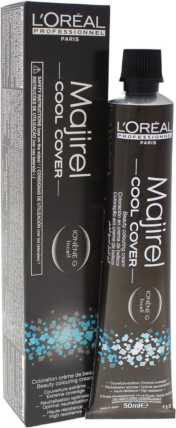 Majirel Cool Cover Coloración permanente en crema para el cabello 8 50 ml