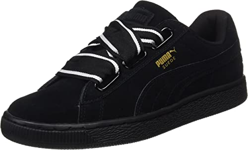 puma femme suede heart satin sneakers