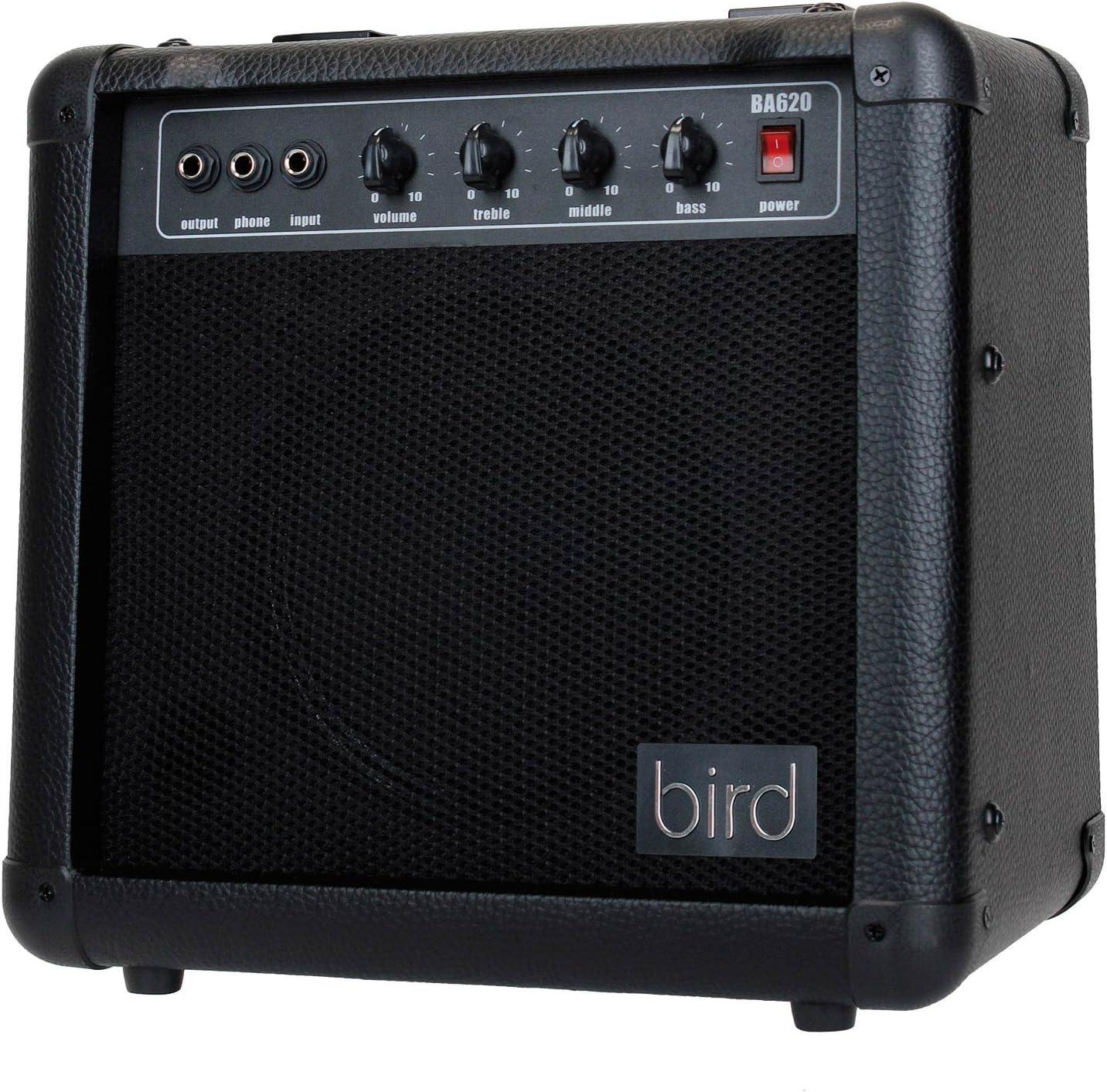 Bird BA620 de amplificador de bajo Negro: Amazon.es: Instrumentos ...