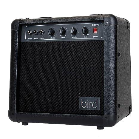 Bird BA620 de amplificador de bajo Negro