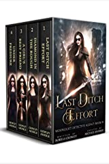 Moonlight Detective Agency Complete Series Boxed Set: Last Ditch Effort, Diamond in the Rough, A Girl's Best Friend, and Under Pressure Kindle Edition