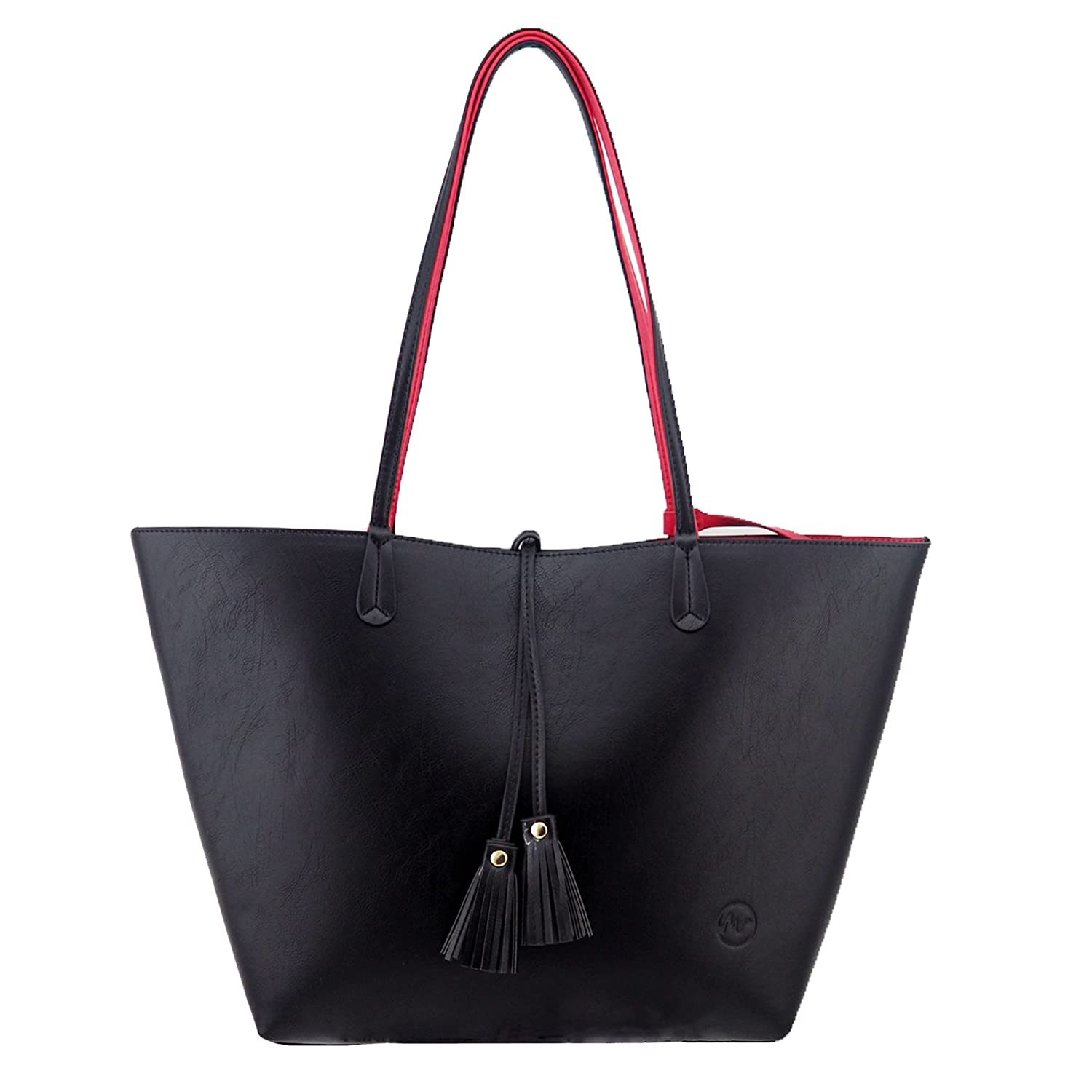 minch k05 pu leather designer tote purses and handbags