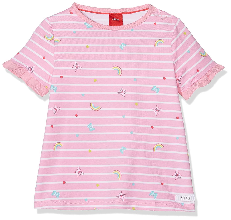 s.Oliver Baby-Mädchen T-Shirt 65.804.32.5099