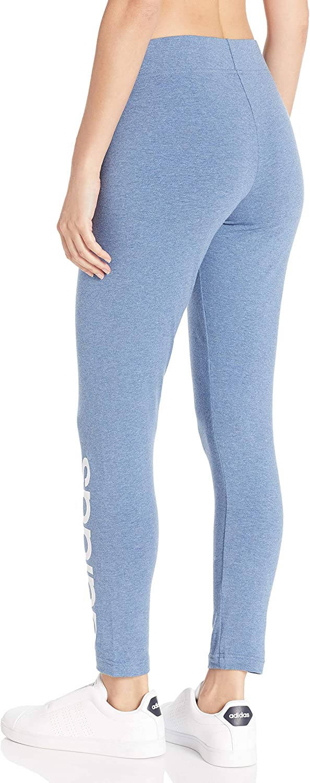adidas Damen Strumpfhose Essentials Linear Tight Tinte / Weiß