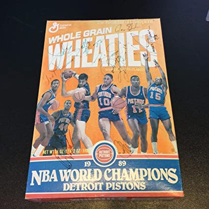 d6505fd9e175 Image Unavailable. Image not available for. Color  Rare 1989 Detroit  Pistons NBA World Champions ...