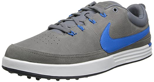 Mens Shoes Nike Golf Nike Lunarwaverly Cool Grey/Photo Blue/Summit White/Dark Grey