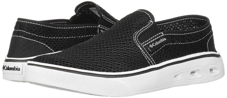 Columbia Women's Spinner Vent Moc Water Shoe B073WH1SK6 9 B(M) US|Black, White