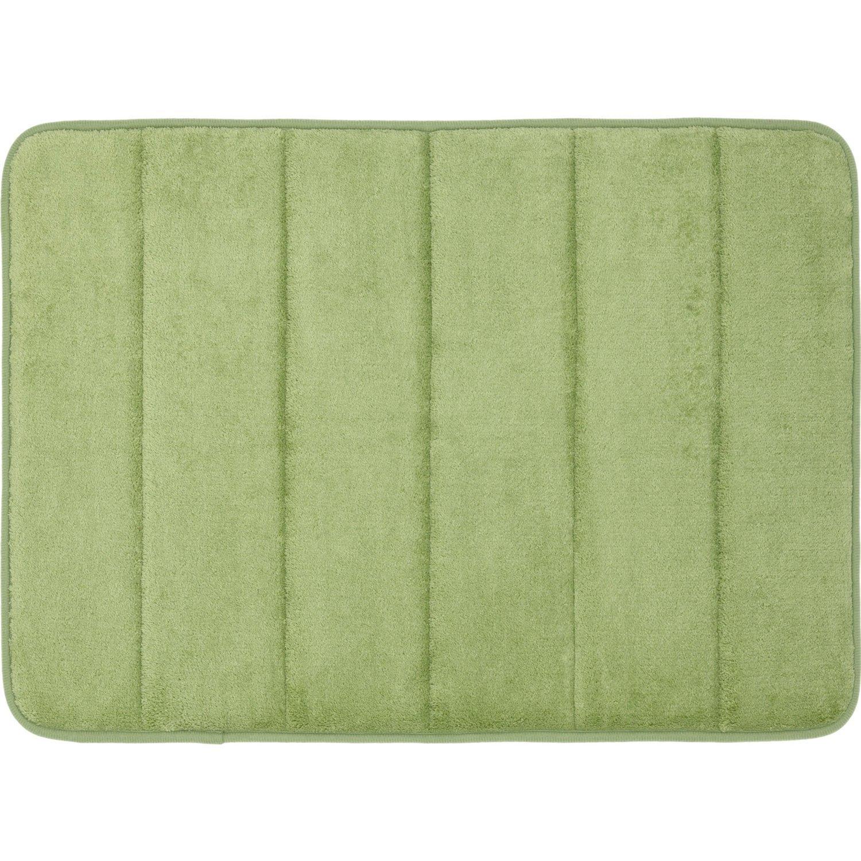 Sofantex Rugs Luxurious Memory Foam Bath Rug Sage 17 X 24 Pack Of Two