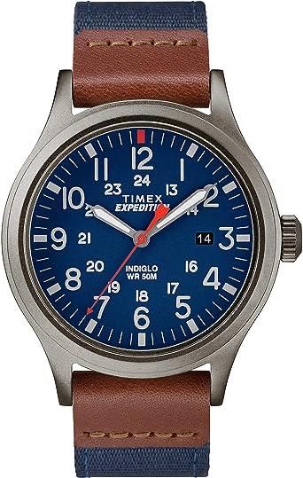 Timex Reloj Análogo clásico para Hombre de Cuarzo con Correa en ...