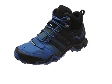 adidas Performance TERREX SWIFT R2 MID GTX - Walking boots - blue dNaFBMpt