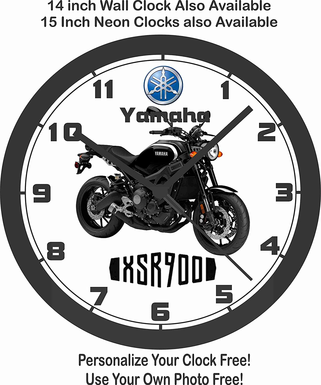 Yamaha xsr900 motocicleta pared clock-free EE. UU. Barco. -Choose 1 de 4: Amazon.es: Hogar