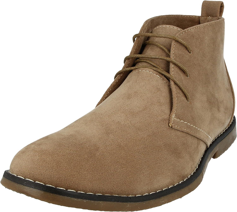 Men/'s LIGHTWEIGHT Desert Boot in Four Colours UK Sizes 6-12