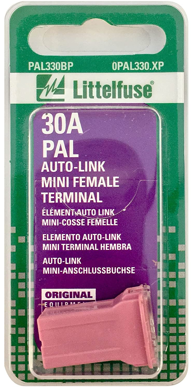 LITTELFUSE pal330bp Pal自動車タイプブレードヒューズ – 1のパック   B000COCB0G