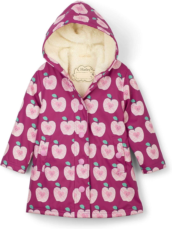 Hatley girls Sherpa Lined Splash Jacket