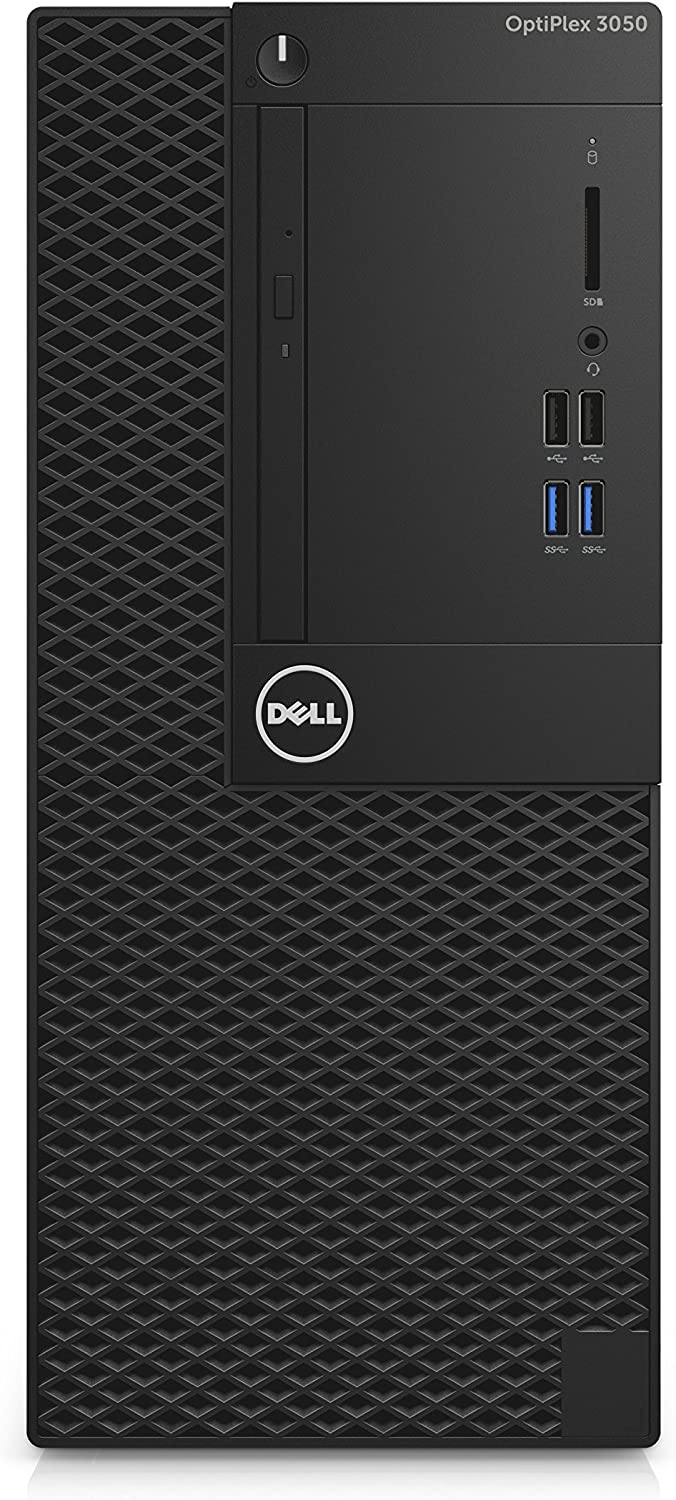DELL OptiPlex 3050 3.4GHz i5-7500 Mini Tower Negro PC - Ordenador de sobremesa (3,4 GHz, 7ª generación de procesadores Intel Core i5, 8 GB, 256 GB, DVD±RW, Windows 10 Pro)
