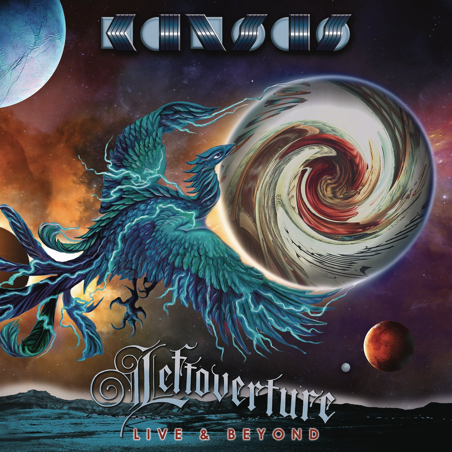 CD : Kansas - Leftoverture Live And Beyond (2 Disc)