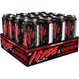 Hyde Power Potion Energy Drink, 350 mg Caffeine, Plus TeaCrine, Carnitine, BCAA, CoQ10 & Citrulline, 16 oz., Great Tasting, Carbonated, 12 count (Island Punch Flavor)