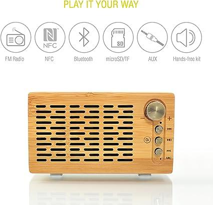 Mini Enceinte Bluetooth Haut-Parleur Lecteur MP3 Hands-free Lecteur Carte USB //