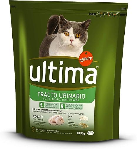 Ultima - Alimento para Gatos, Control Tracto Urinario, Bolsa 800 g ...
