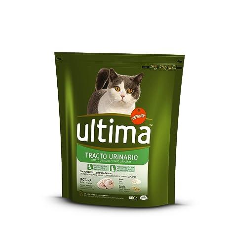 Ultima - Alimento para Gatos, Control Tracto Urinario, Bolsa 800 g