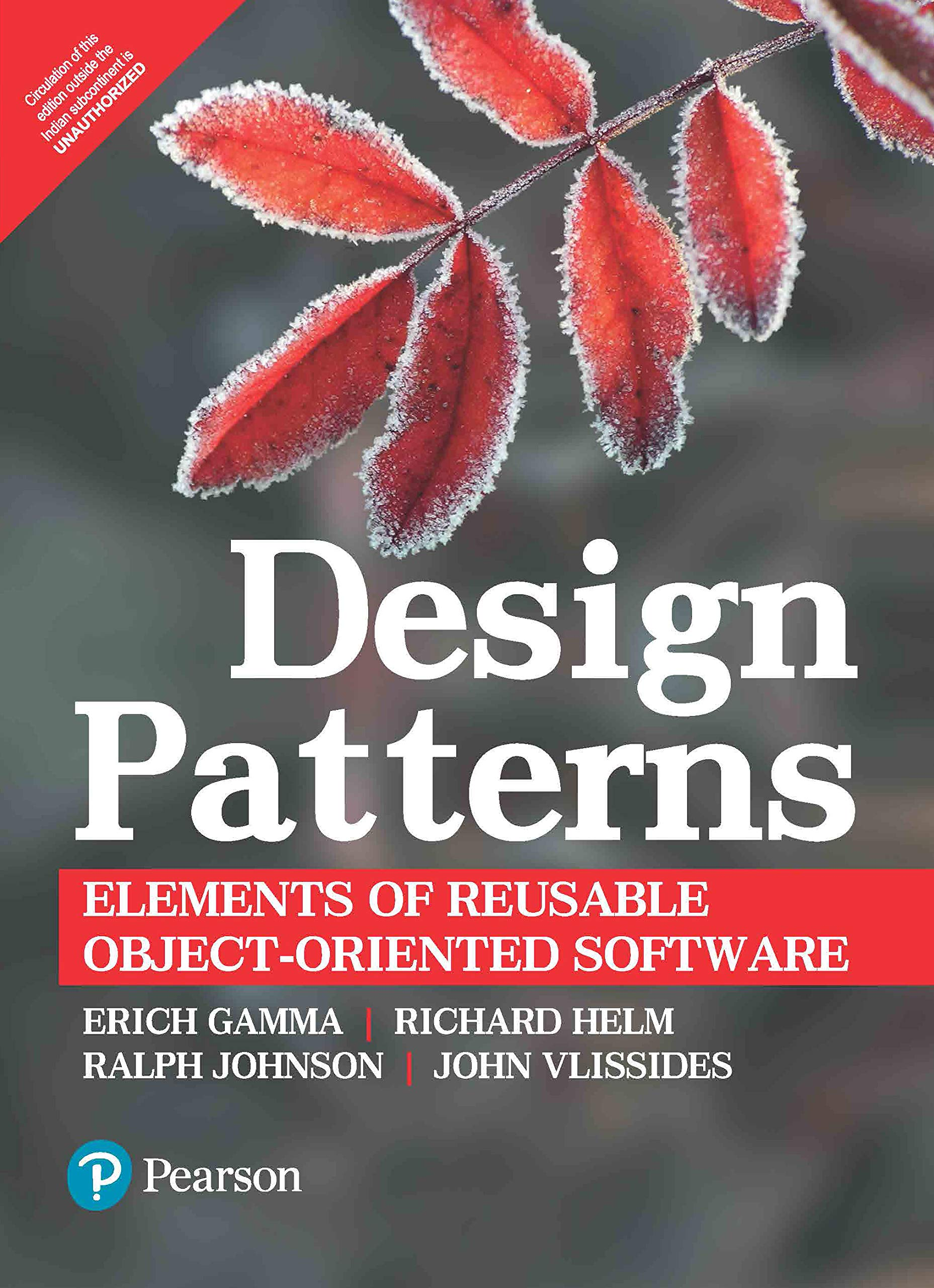 Design Patterns Elements Of Reusable Object Oriented Software Erich Gamma Richard Helm Ralph Johnson John Vlissidess 0009332555400 Amazon Com Books