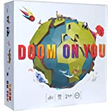 Doom ON You Card Game • from The Creators of 3UP 3DOWN • Ages 8+ • 3-6 Players • Best Fun Family Games for Kids, Teens, Adult