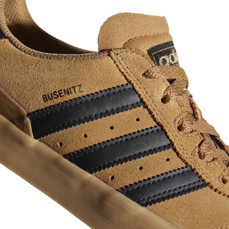 adidas Originals Men's Busenitz Vulc ADV Fashion Sneaker Raw Desert/Core Black/Gum 4