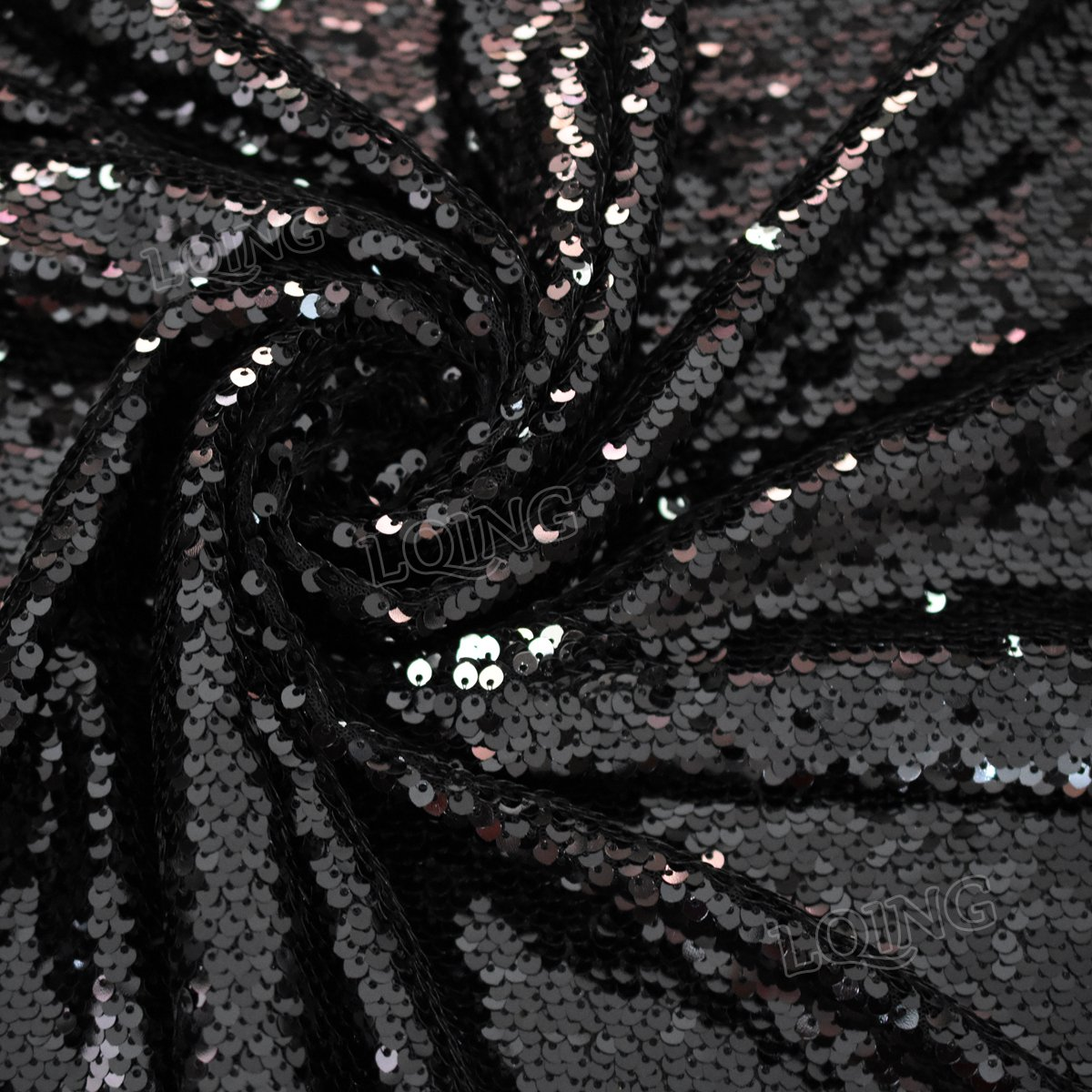 e1cc88c451 Black silver mermaid sequin reversible sequin jpg 1200x1200 Sequin dress  fashion black dragon scales
