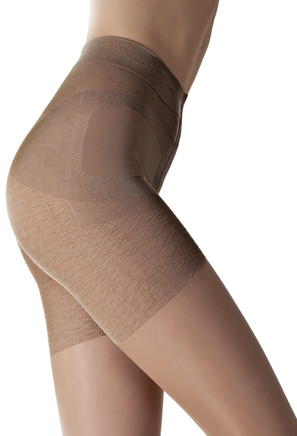 Fiore Luxury 20 Denier Shaping and Slimming Tights - Available in Black or Tan