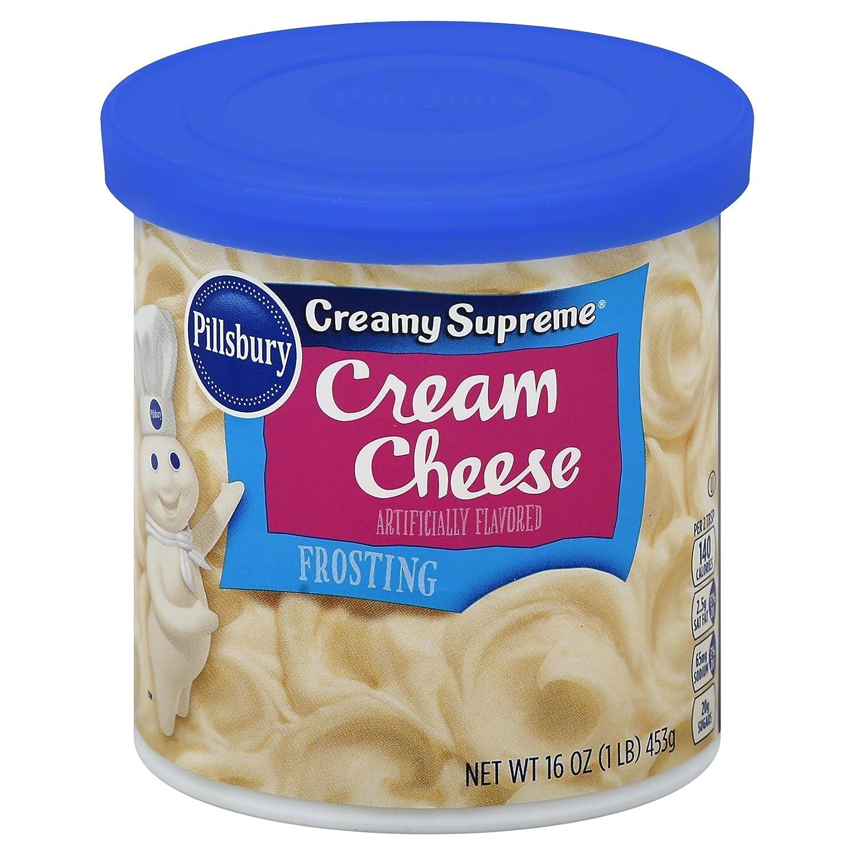 Pillsbury Flavored Frosting, Cream Cheese, 16 oz