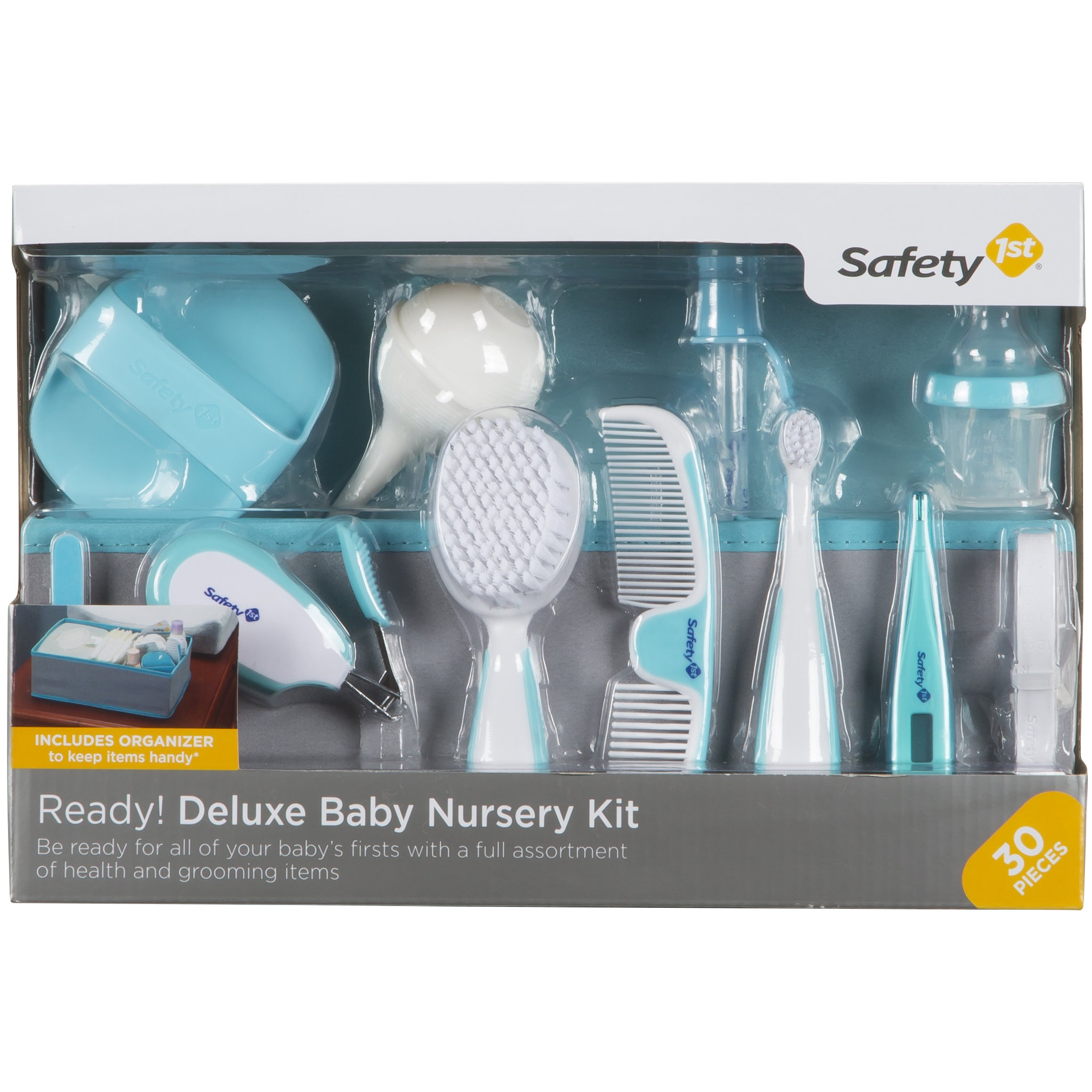 Safety 1st Ready! Deluxe Baby Nursery Kit, Little Lagoon by Safety 1st