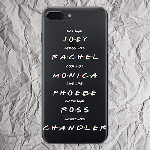newest 2ac89 ae8f9 Friends iPhone 7 8 6 6s plus X Xs Max Xr case TV Show Merchandise Joey  Rachel Monica Phoebe Ross Chandler Cell Phone Case for iphone 5 5s se 5se  Shirt ...