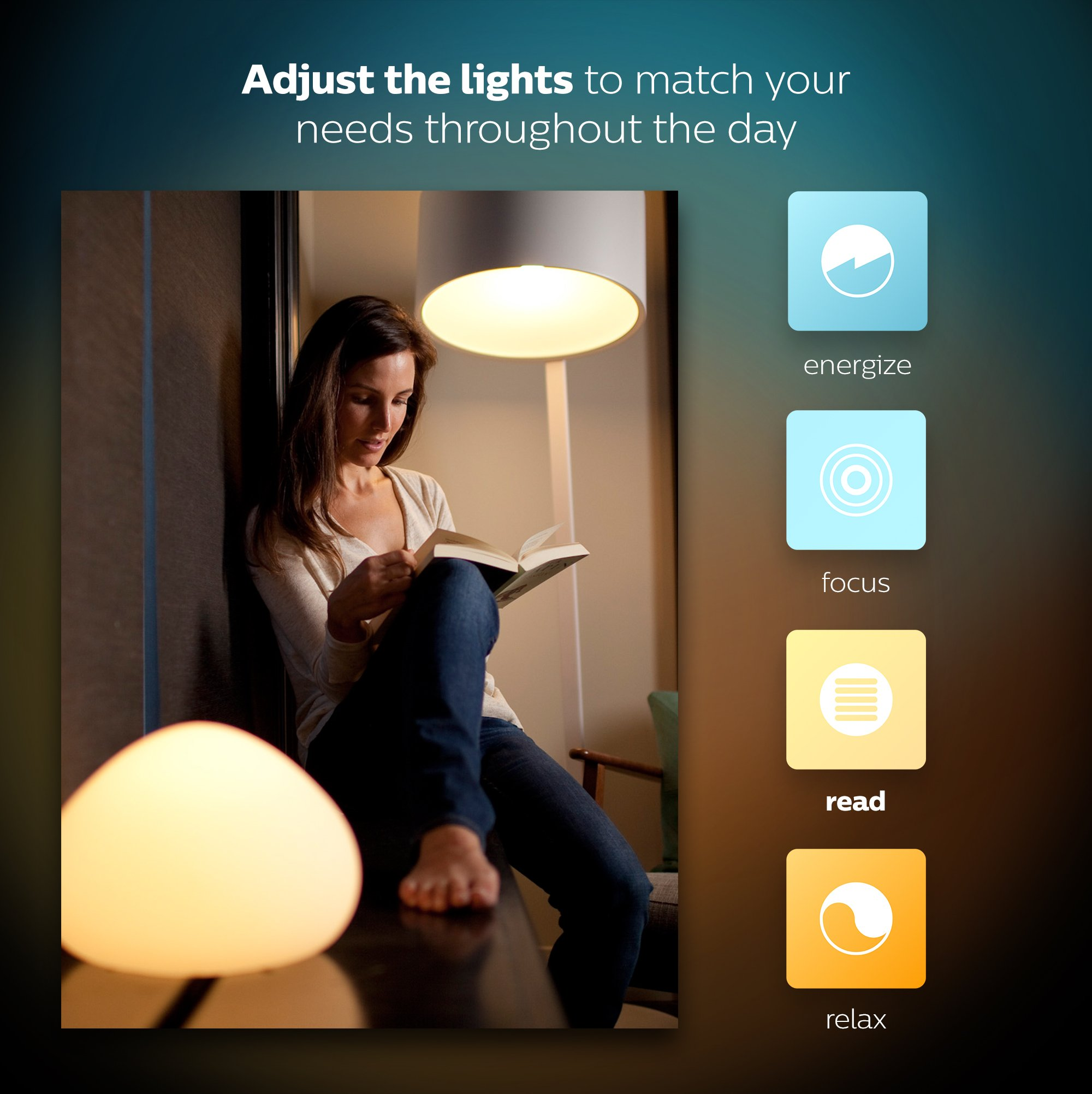 Philips Hue White Ambiance Being Dimmable LED Smart Flushmount (Compatible with Amazon Alexa, Apple HomeKit, and Google Assistant)