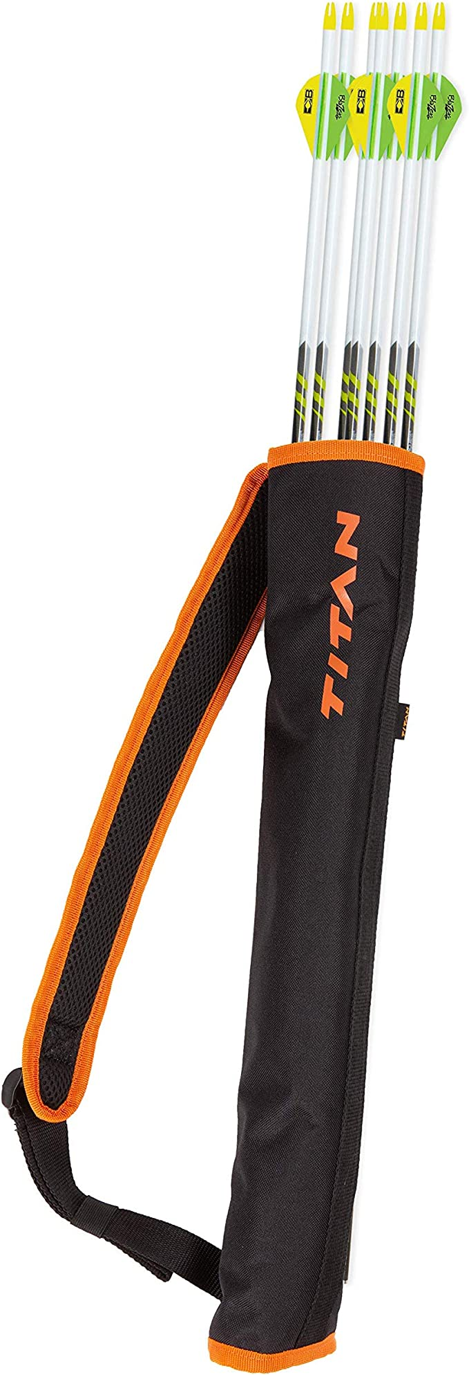 best quivers: Allen Company Youth Archery Back Quiver Arrow Holder