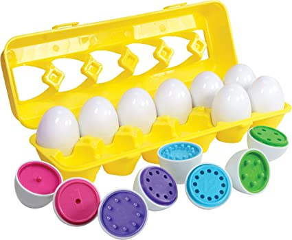Matching Early Development Toys Eggs Shapes And Colors Educational Set Puzzle