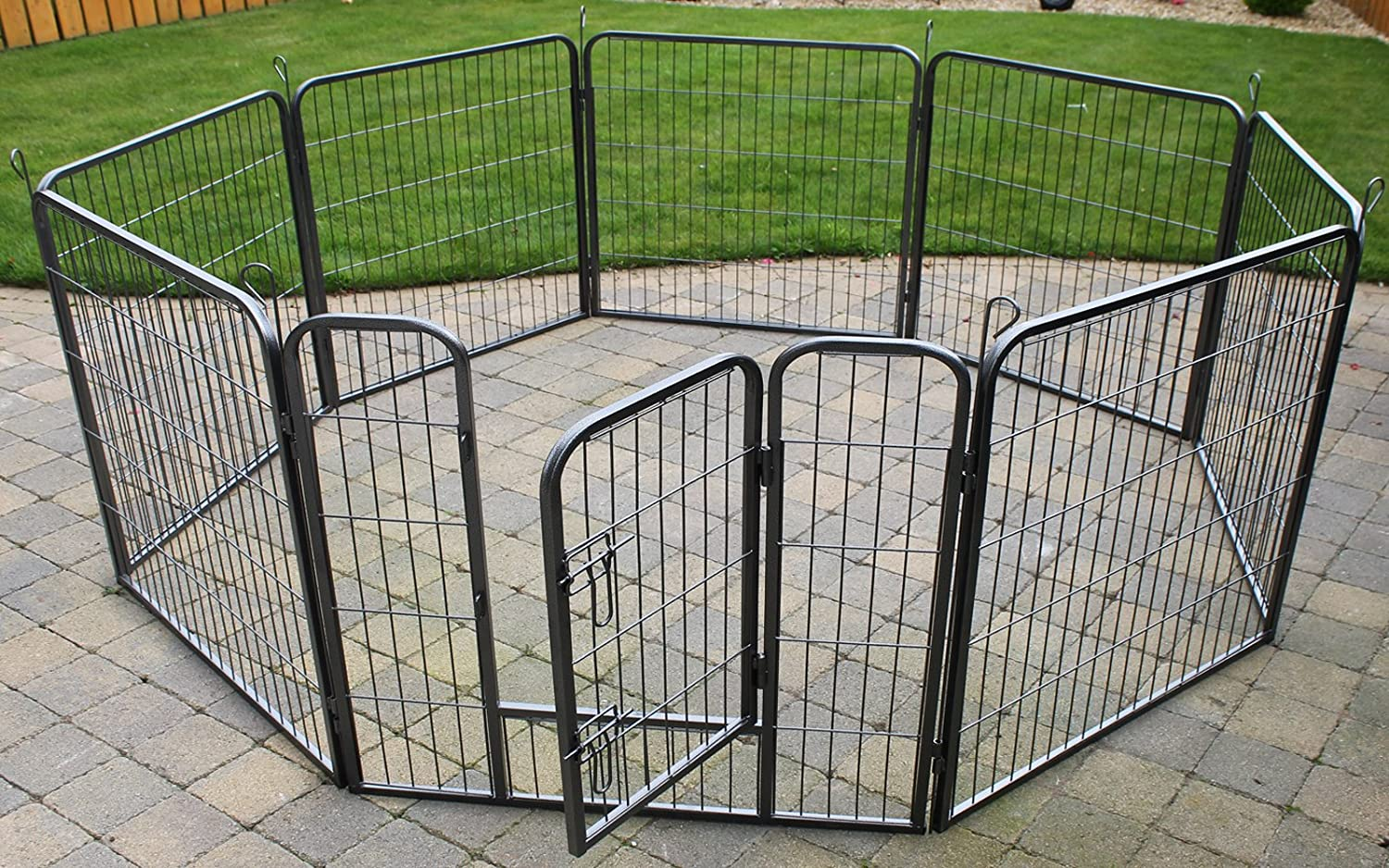 Indoor dog penindoor kennels keep your pups warm and dry for Cheap dog pens for outside