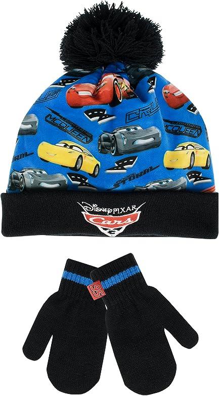 Disney Boys Cars Mcq Hat and Glove Set