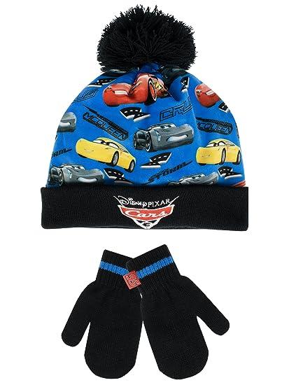 517cfe53888 Amazon.com  Disney Cars Boys  Cars Hat and Gloves Set Multicolored ...
