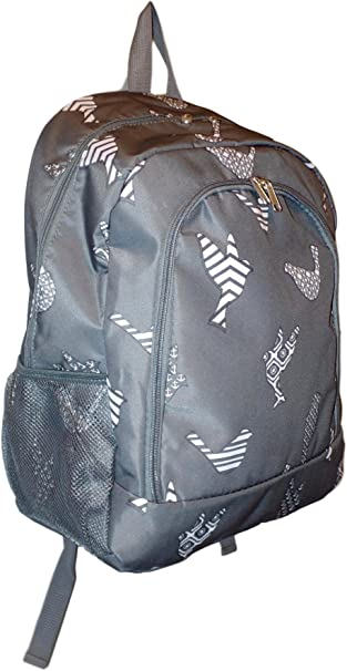 High Fashion Print Medium Sized Backpack Custom Personalization Available