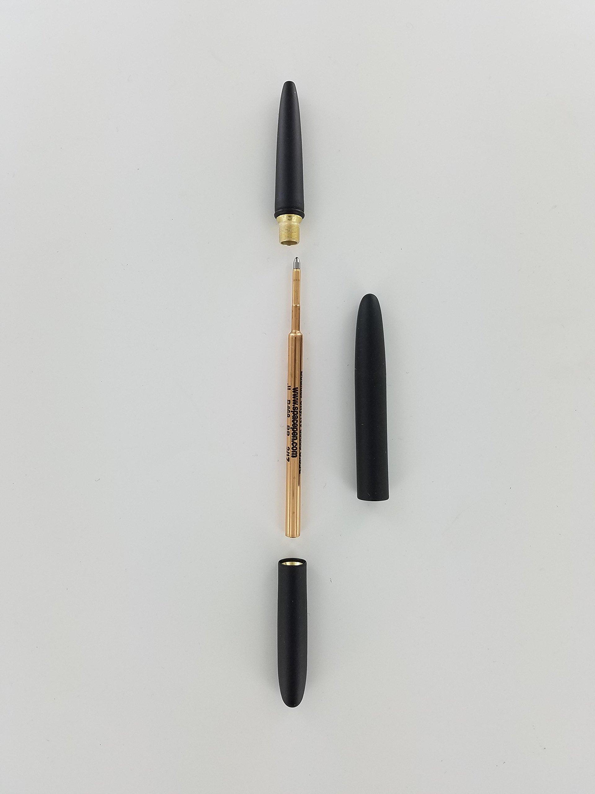 Fisher 400B Space Bullet Space Pen - Matte Black