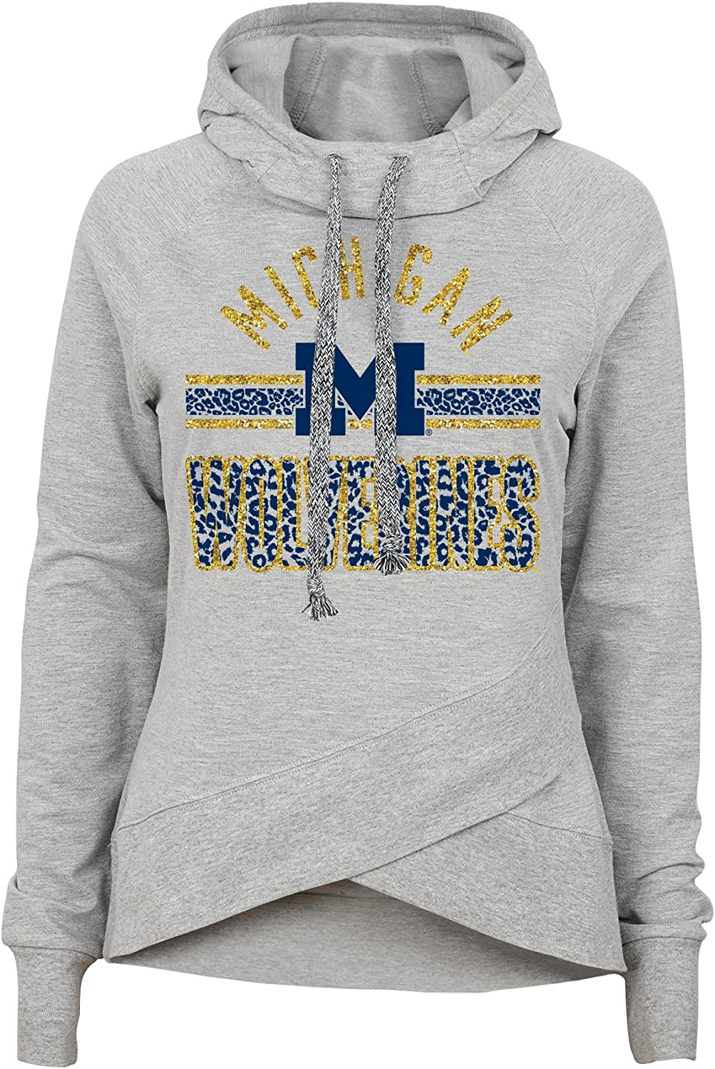 NCAA by Outerstuff NCAA Juniors Flow Funnel Neck Pullover Hoodie