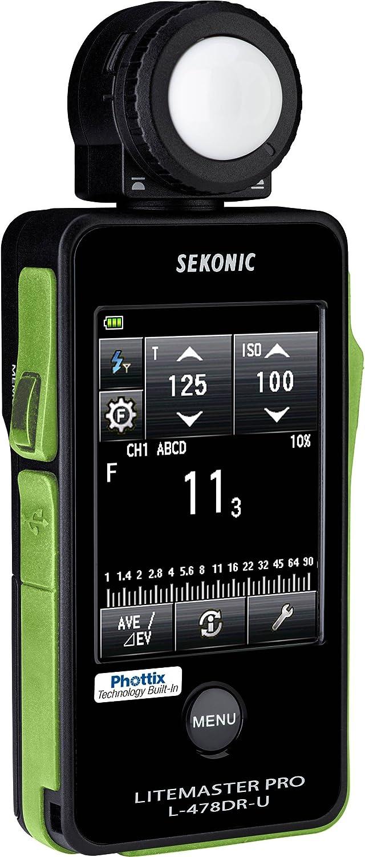 Sekonic sk011766–Photometer l-478dr-px Phottix, Black