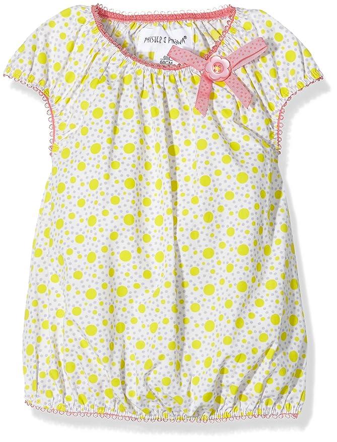 26eb373b9 Phister & Philina P0307-0217, Vestido para Bebés, Mehrfarbig (Lilac hint  Hin) 68 cm: Amazon.es: Ropa y accesorios