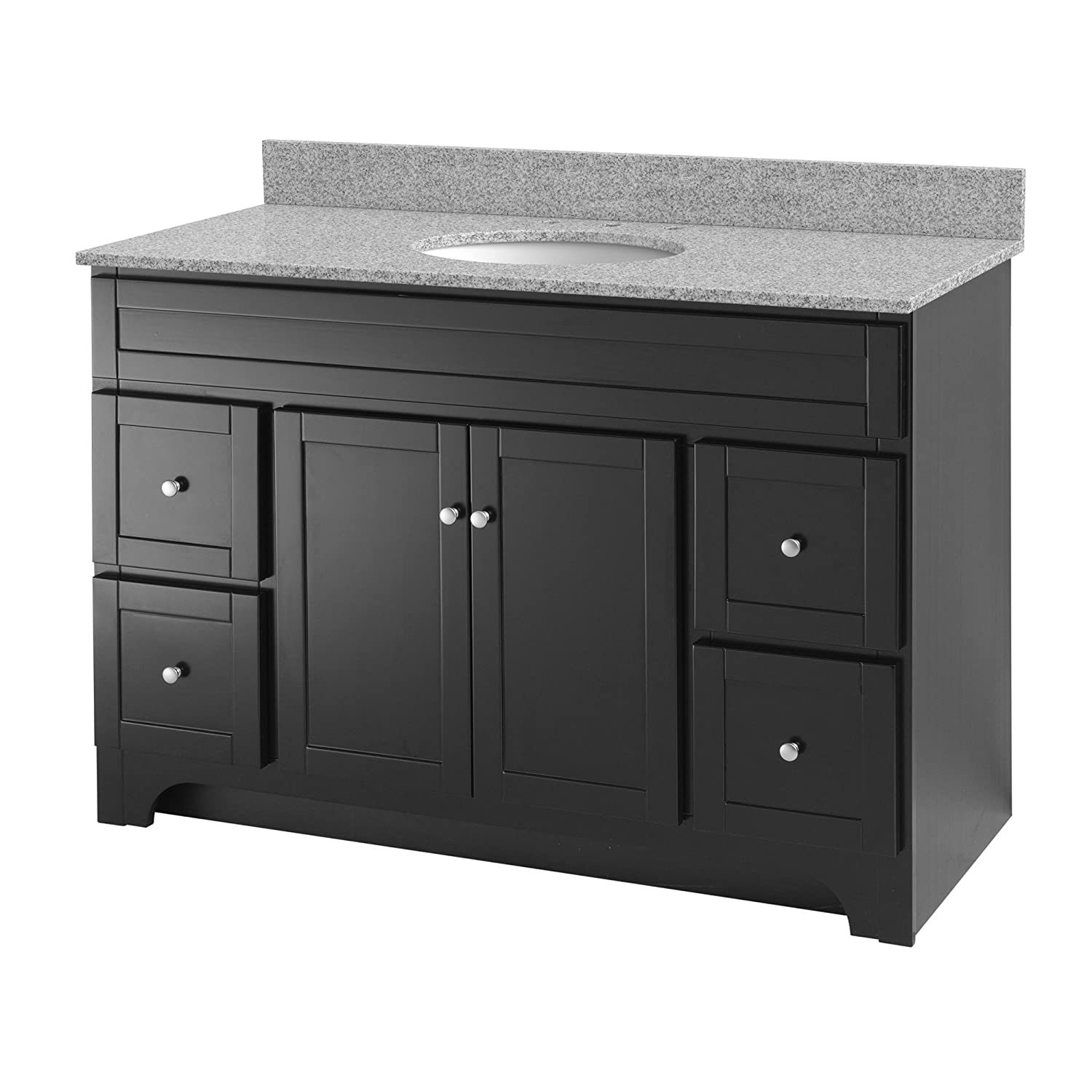 Foremost WROA4821D Worthington 48 Inch Bathroom Vanity Oak