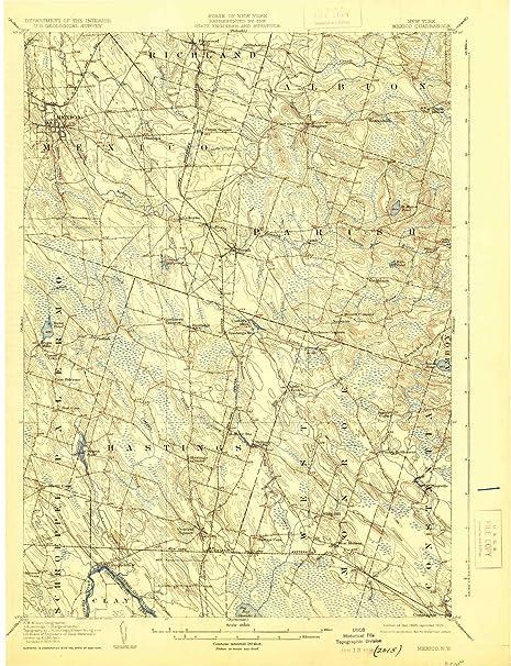 Amazon Com Yellowmaps Mexico Ny Topo Map 1 62500 Scale 15 X 15
