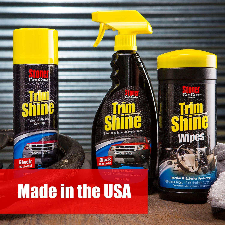 Stoner Car Care 92034-6PK Trim Shine Protectant - 132-Fluid Ounces 6-Pack